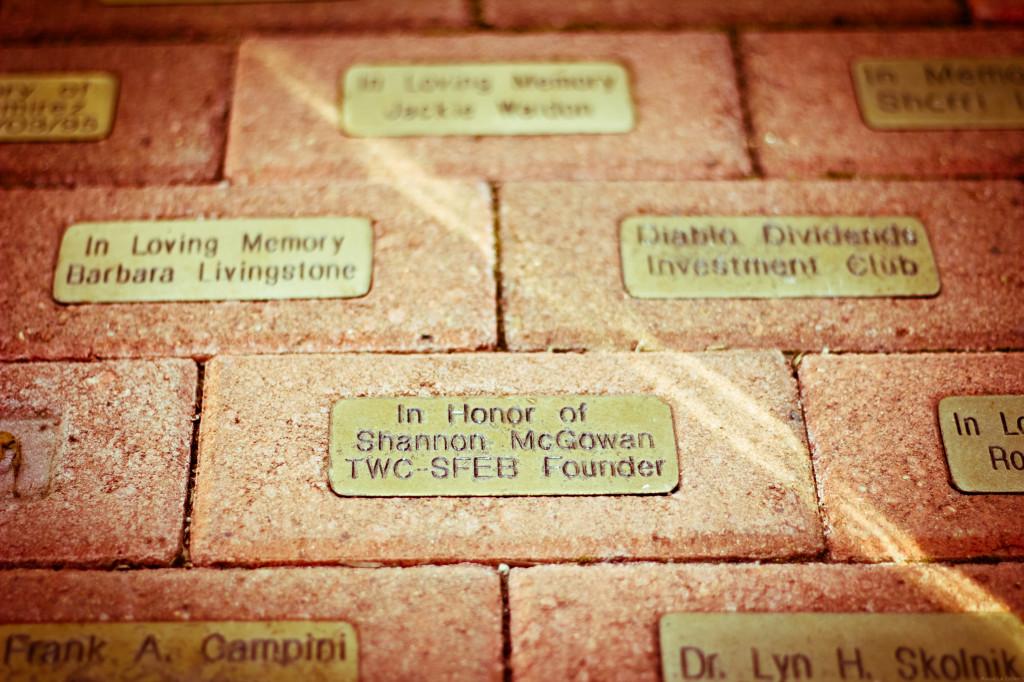 Cancer Support memorial brick 3001