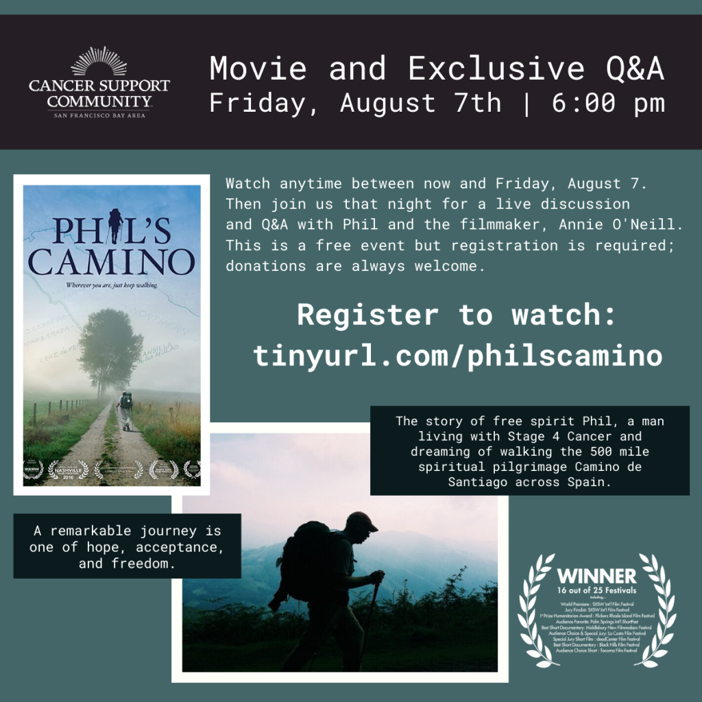CSC Movie Night - Phil's Camino